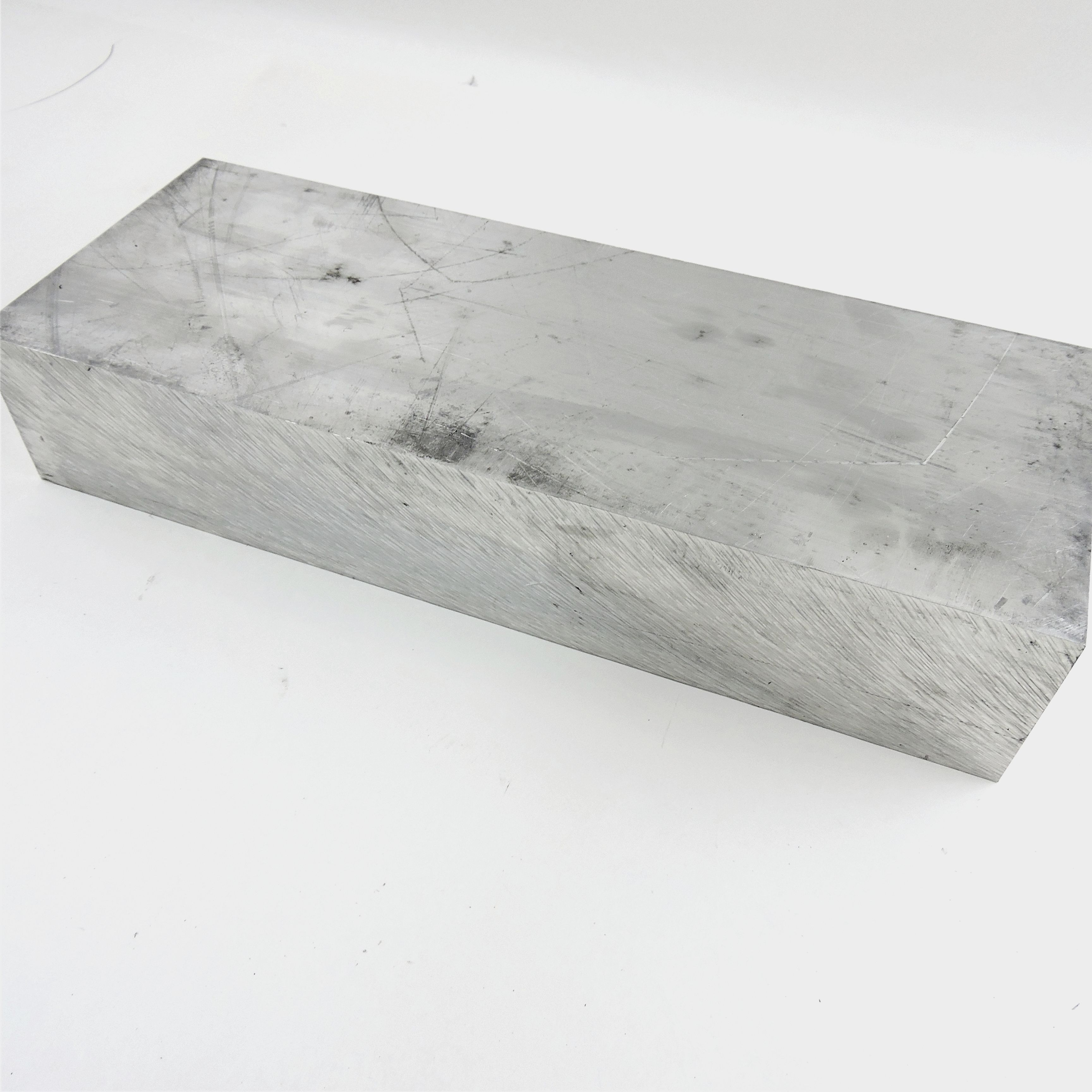 """4/"""" thick 6061 Aluminum PLATE  5.0625/"""" x 6.75/"""" Long Solid Flat Stock sku 122254*"""