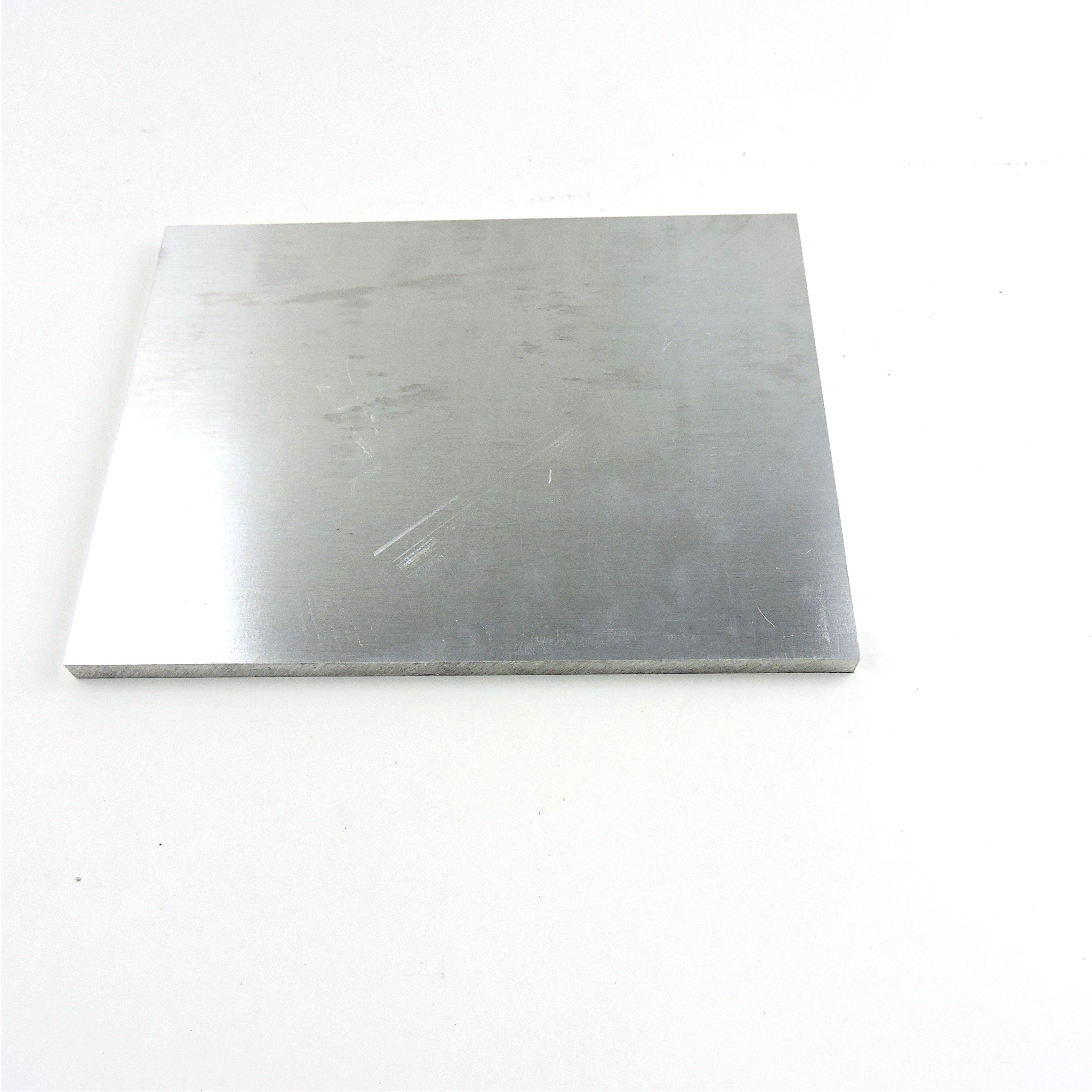 ".375/"" thick 6061 Aluminum PLATE  7.125/"" x 12.375/"" Long QTY 2  Stock sku122288"