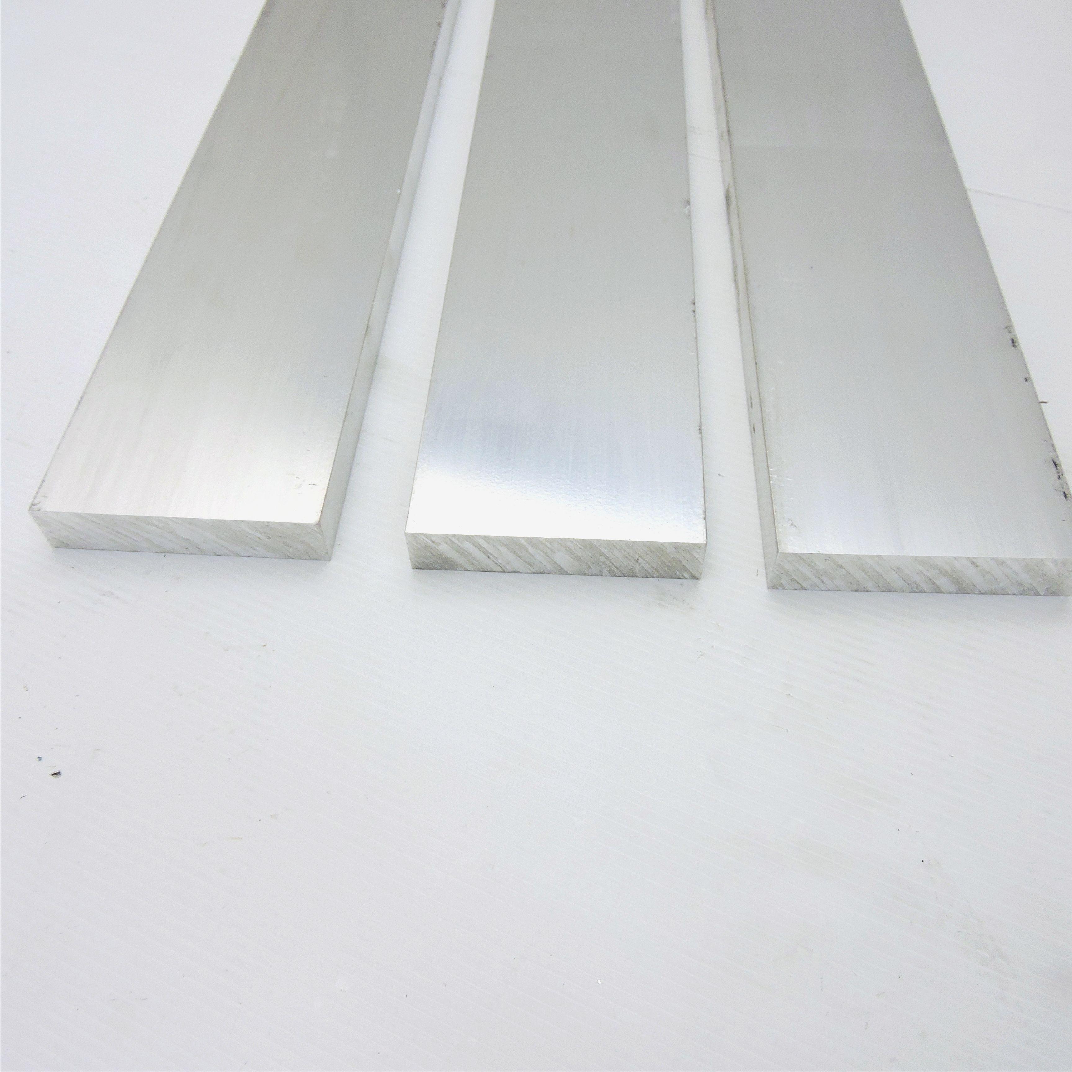 """.625/"""" x 3/"""" Aluminum Solid 6061 FLAT BAR 13.625/"""" Long stock Pieces 3 sku K413"""