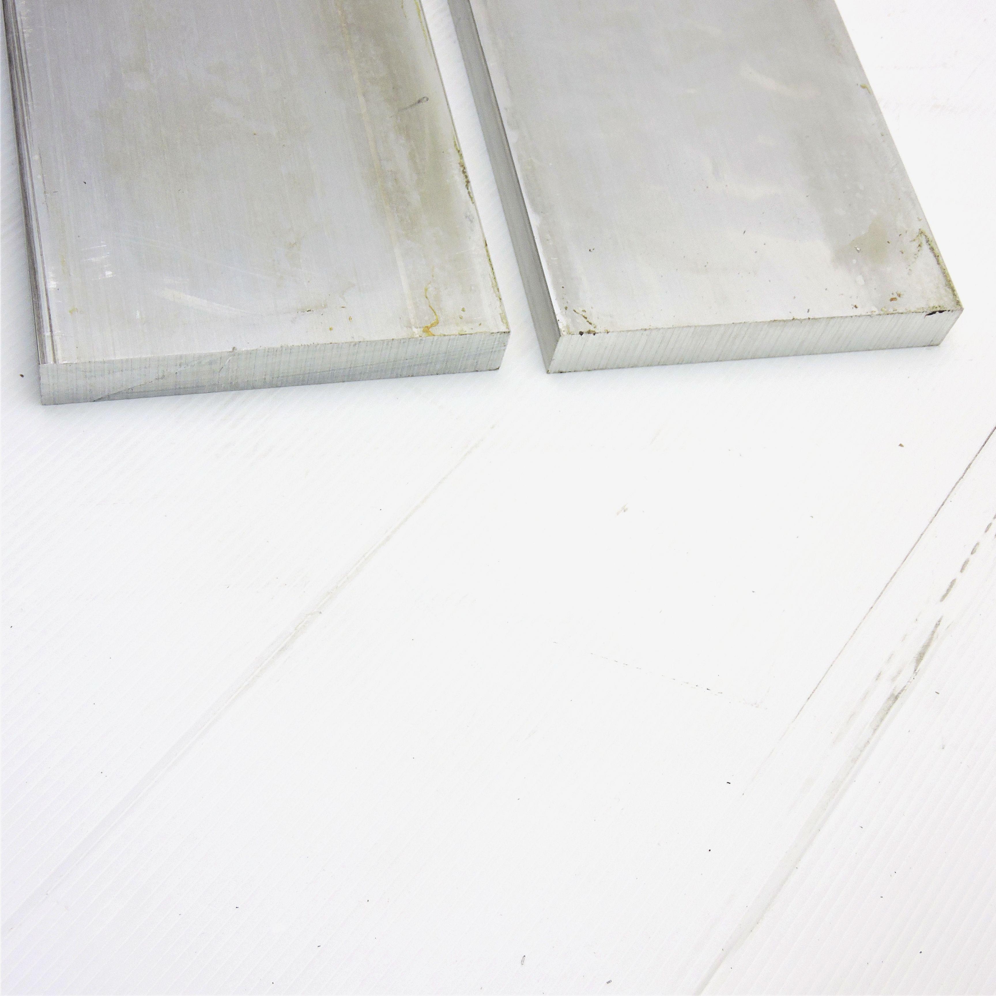 """.75/"""" x 8/"""" Aluminum 6061 FLAT BAR 19.375/"""" Long new mill stock QTY 2 sku L522"""