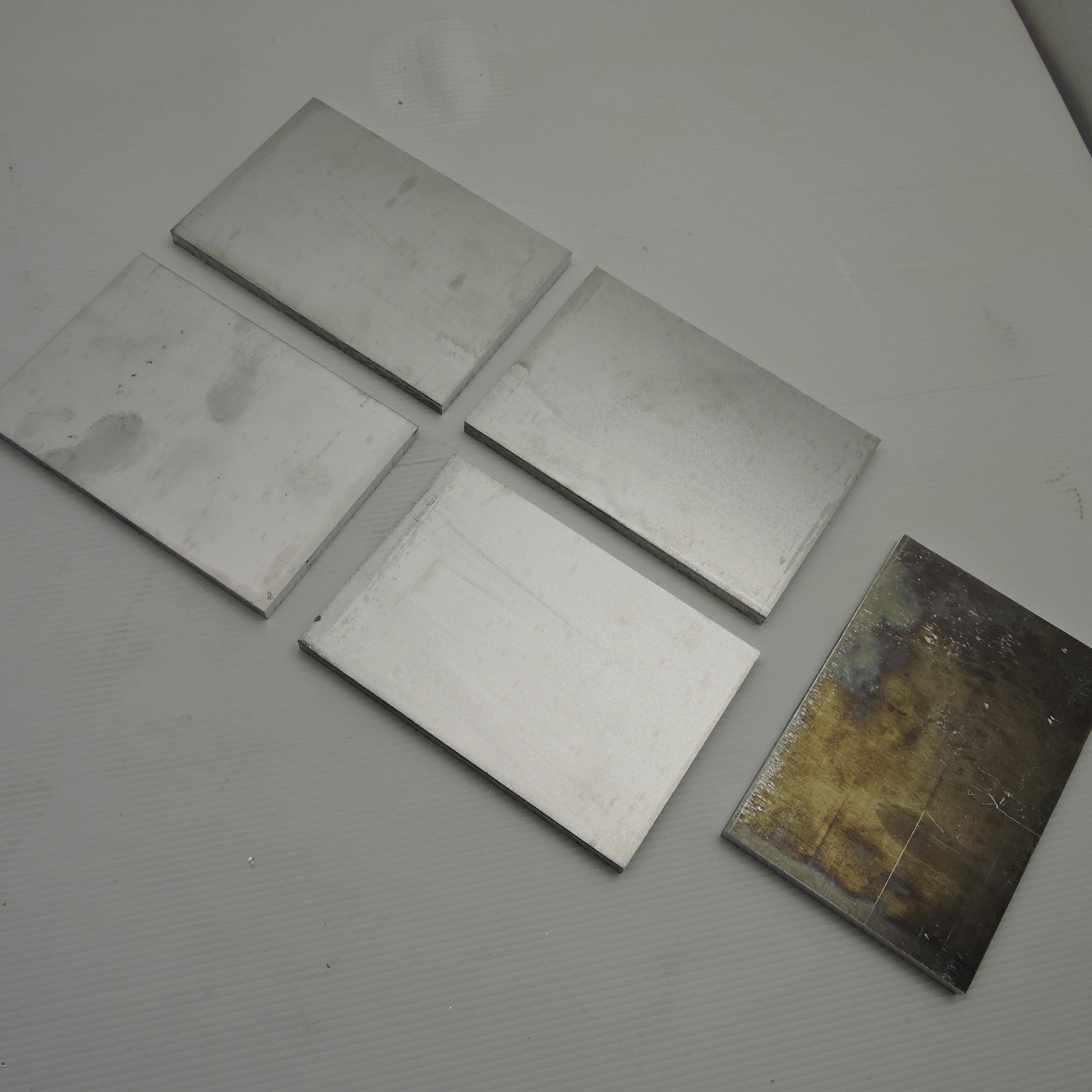 ".375/"" thick 6061 Aluminum PLATE 7.5/"" x 12.375/"" Long QTY 2 Flat Stock sku 137142"